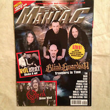 METAL MANIAC 1/2012 BLIND GUARDIAN VOLBEAT OPETH TIR RAIN CAGE AMARANTHE