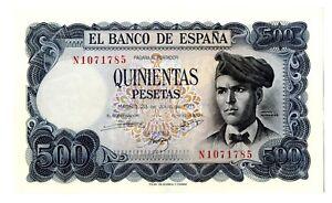 Billete-Espana-500-pesetas-1971-Jacinto-Verdaguer-N1071785