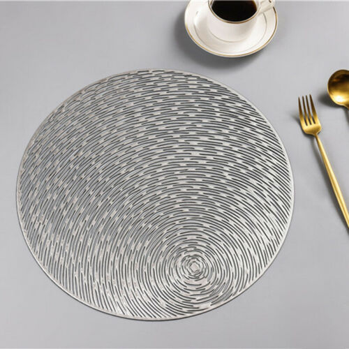 Round Shape Anti-slip Kitchen Placemat Insulation Pad Protect Table Mat Coaster