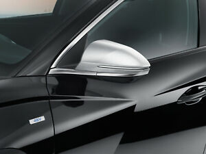 Genuine Hyundai Tucson 2021 Brushed Aluminium Door Mirror Covers/Caps