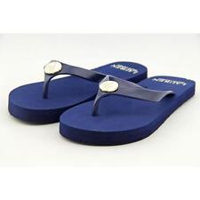 Lauren Ralph Lauren Elissa Women US 6 Blue Flip Flop Sandal Blemish  16396
