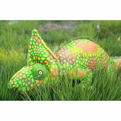 69*28cm(Include tail) RED GREEN emulational chameleon Stuffed Animals Plush Toy