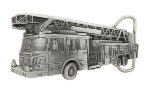 Fire Department Engine Truck Metal Belt Buckle