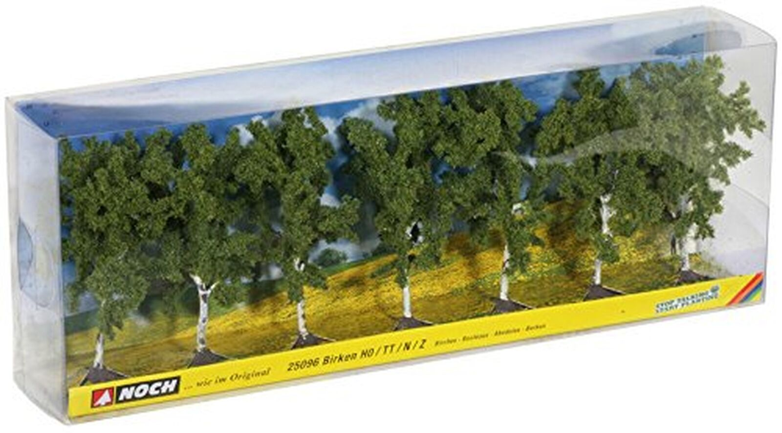 Noch 25096 10 cm High Birches Landscape Modelling  7-Piece