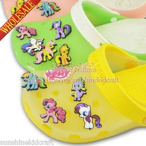 The Little Pony 1 PVC shoe charms For croc/Bracelet wristband,Shoe Ornament