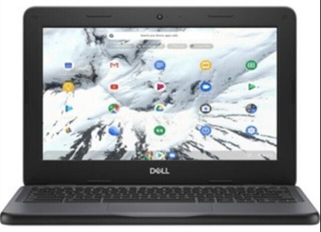 """Dell Chromebook 11 3100 Celeron N4000 2.6 GHz 4GB 16GB EMMC 11.6""""HD"""