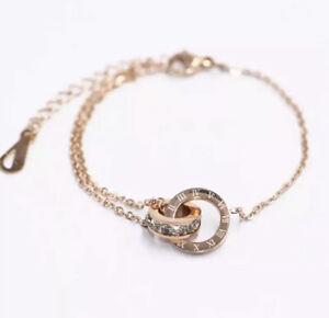 Armband-Bracelet-Armreif-Roemische-Ziffern-Zahlen-Luxus-Edelstahl-Gold-Numbers
