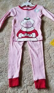 241b56bc2 Carter s 2-piece Mrs. Claus pajama Set- Girls-Size 3T -Pink ...