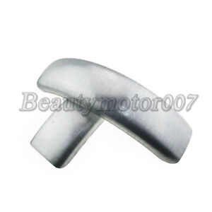 """Motorcycle  Application 6/"""" Flat Bobbed Raw Rear Front Fender for Harley Custom"""