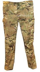 Ejercito-Britanico-MTP-clima-Calido-Pantalones-Varios-Tamanos-grado-1-Usado