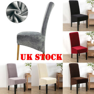 Uk Velvet Fabric Xl Size Chair Covers