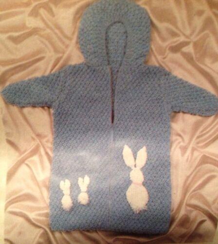 New Born Babies Sleeping Bag Knitting Pattern