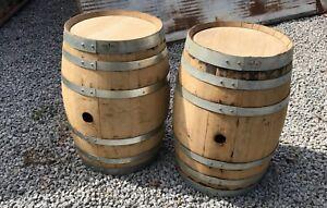 Vintage-OAK-WOOD-BARREL-KEG-CASK-whisky-Whiskey-or-wine-15-gallon