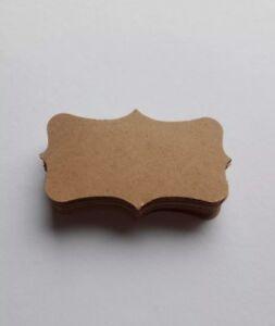 30 Vintage Cadeau Pendentif Table Petites Cartes Cadeau Étiquettes 3 X 4 Cm Nature-er Tischkärtchen Geschenketiketten 3 X 4cm Natur Fr-fr Afficher Le Titre D'origine