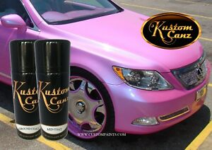 Image Is Loading Kustom Canz Outrageous Miami Pink 12oz Aerosol Can