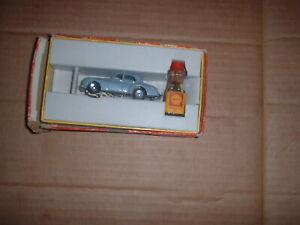 Voiture des années 1960 Vintage Minic autoroute Rolls Royce Saloon gris clair Rare Vg / boîte