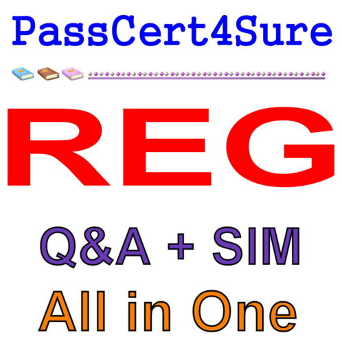 AICPA CPA Regulation REG Exam Q/&A PDF+SIM