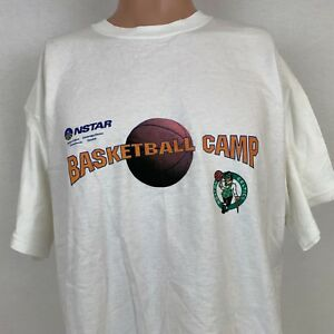 new arrival c97b1 cdd94 Boston Celtics Mens Training Camp T-Shirt Size XL Vintage ...