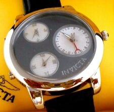 Rare Mint INVICTA 9999 Elite Hematite Dial Limited Edition Watch with Box
