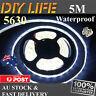 Waterproof 12V Cool White 5630 SMD 300 LED Strips 5M Led Strip Lights car boat