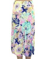 Marks & Spencer Floral Summer Pastel Pleated M&S Skirt - Sizes 8 10 12 14 16 18