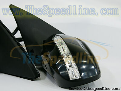 00 01 02 03 04 05 06 Mazda Protege Protege5 LED Power Retract Fold Side Mirror