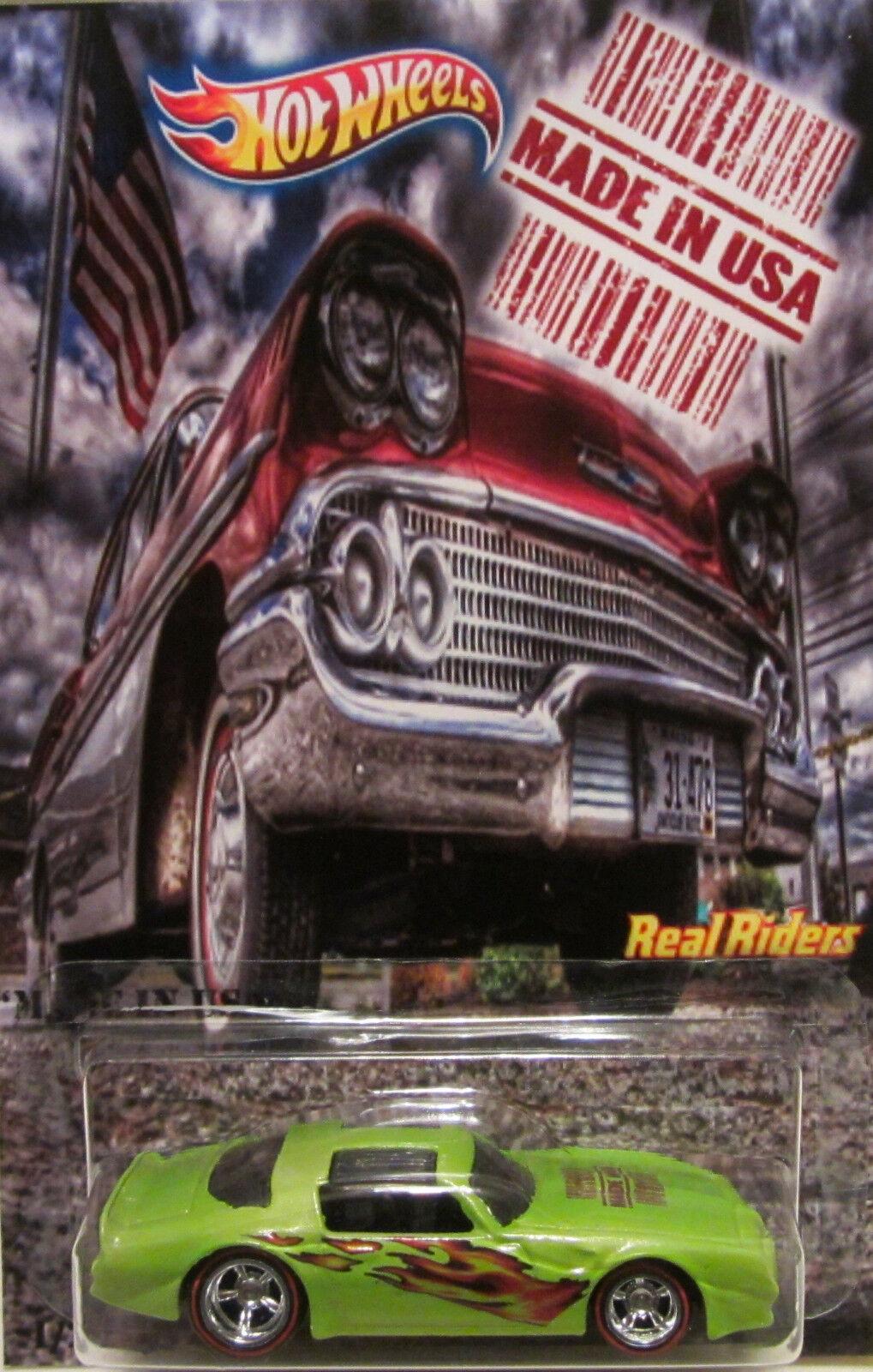 Hot Wheels CUSTOM '77 PONTIAC FIREBIRD  Made in USA  Real Riders LTD 1 25 Made