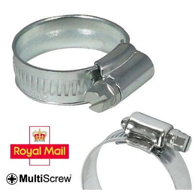2 x 22-30MM JUBILEE HOSE CLIPS SILICON FUEL WATER AIR