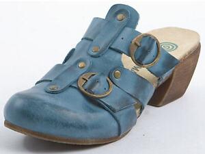 Dr.Brinkmann Pantoletten Clogs Sandalen Leder Schuhe blau Gr.36-42 700368 Neu32