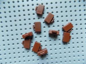 LEGO-Minifigure-Suitcase-Briefcase-Luggage-Bag-Utensil-10-Reddish-Brown