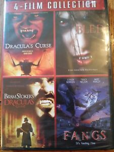 4 Film Collection (Dracula's Curse/Bled/Bram Stoker's Dracula's Guest/Fangs) NEW - Benton, Arkansas, United States - 4 Film Collection (Dracula's Curse/Bled/Bram Stoker's Dracula's Guest/Fangs) NEW - Benton, Arkansas, United States