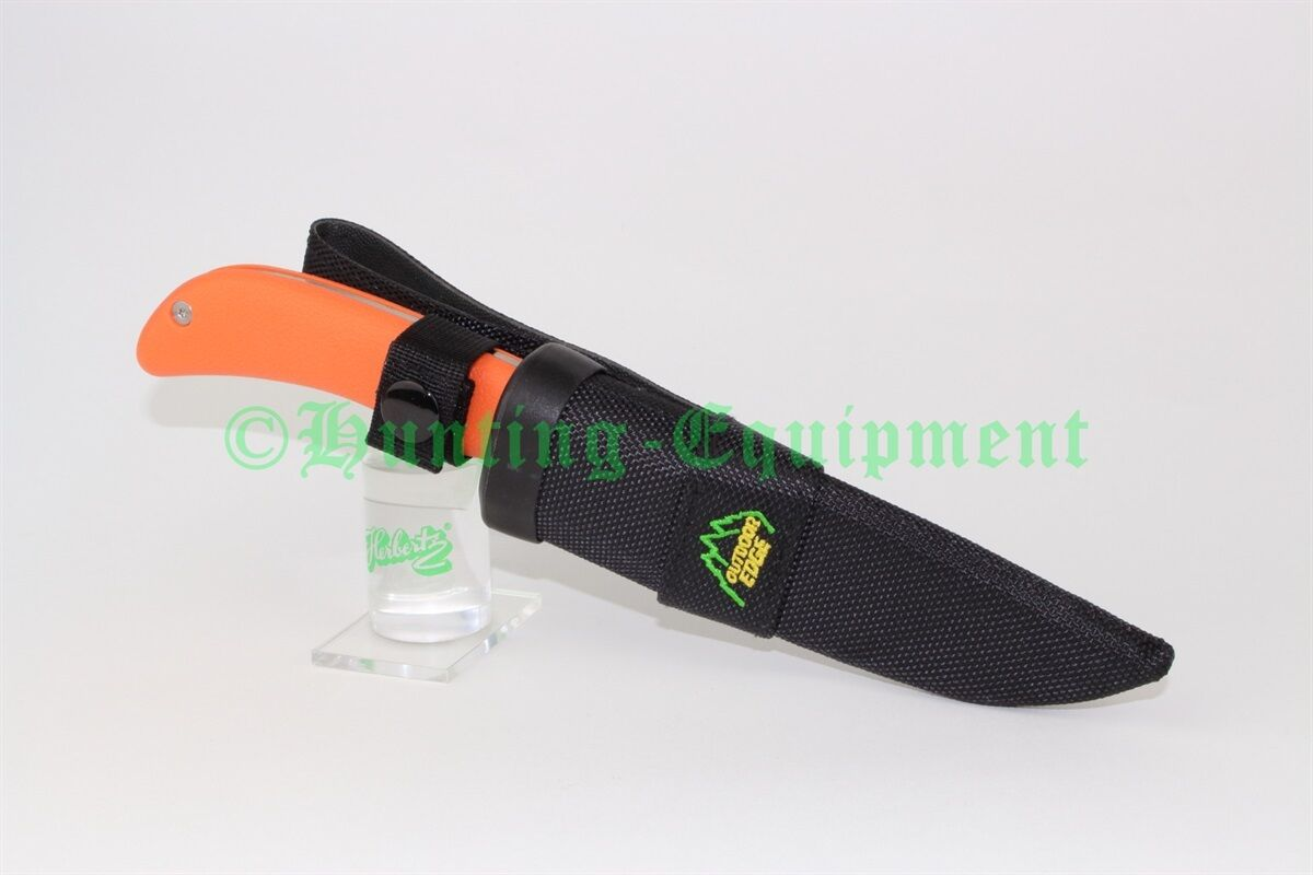 Outdoor Edge Edge Outdoor SwingBlade SwingBlaze Orange Jagdmesser Aufbrechklinge Gürtelmesser 2e6abd