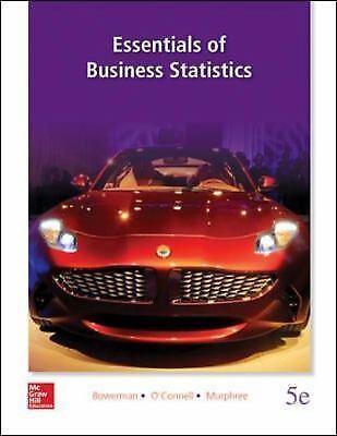 Essentials of Business Statistics, 5th Edition