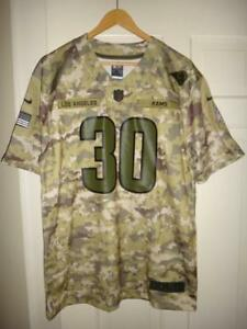 91e52911c Youth Nike Todd Gurley II  30 LA Rams 2018 Version Salute to Service ...