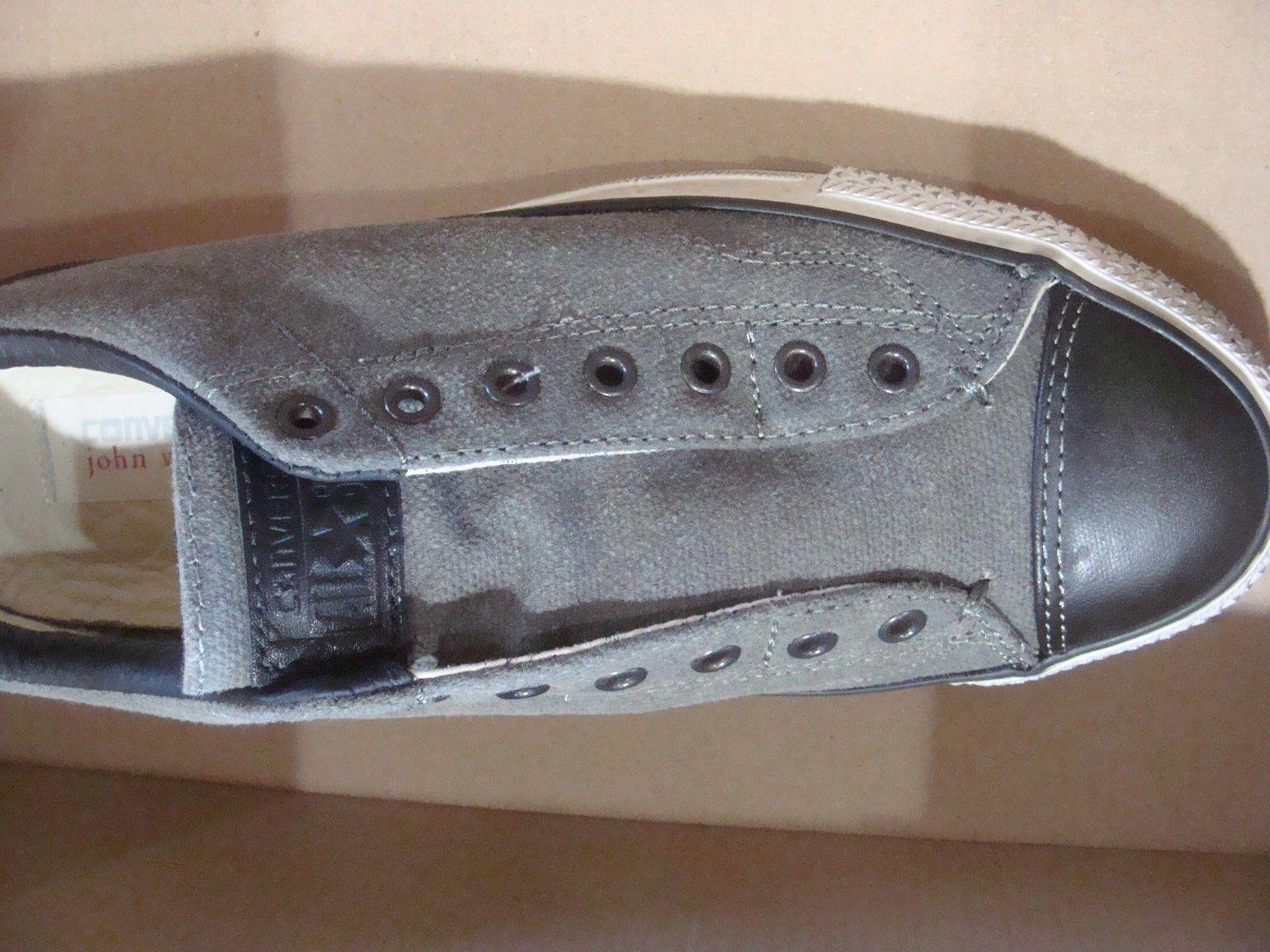Converse X John Varvatos CTAS Vintage Slip Beluga Black 151271C Size 7.513