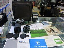 Canon ae-1 programma Canon Lens FD 1:1,8/50 + TOKINA 35-200