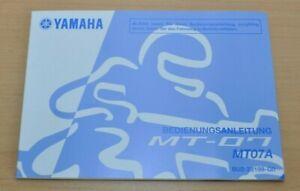 Automobilia Sachbücher Gut Ausgebildete Yamaha Mt 07 Mt07a Wartung Pflege Bremsen Motor Daten Bedienungsanleitung 2016