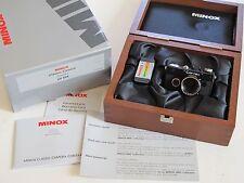 MINOX CONTAX 1 MINIATURE CAMERA SET NEW IN BOX