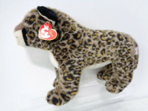 Classic-Ty-Beanie-Dot-the-Leopard-Wild-Cat-Soft-Plush-Toy-1999-NEW-WITH-TAG