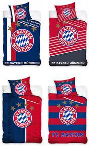 Fc Bayern München Bettwäsche 135x200 140x200 160x200 Fußball 100