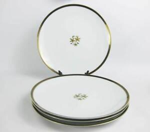 Image is loading Vintage-Noritake-Goldcoast-Dinner-Plates-4-Circa-1950-  sc 1 st  eBay & Vintage Noritake Goldcoast Dinner Plates (4) Circa 1950u0027s Pattern ...