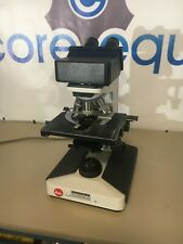 Leitz Laborlux S Desktop Microscope With 3 Objectives Amp Only 1 Lens