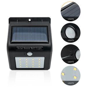 Lampara-LED-de-energia-solar-Power-alimentada-Pared-de-jardin-Luz-Exterior-Light