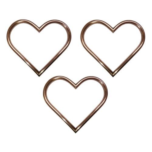 Love Heart Shaped Copper Ornaments Birthday Romantic Anniversary Gift Idea