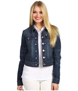 198 NEW TRUE RELIGION Jeans Womens US XSmall Emily Dark Blue Denim ... 583a5f5d1d10