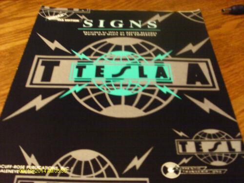 Tesla Signs 1970  Sheet Music