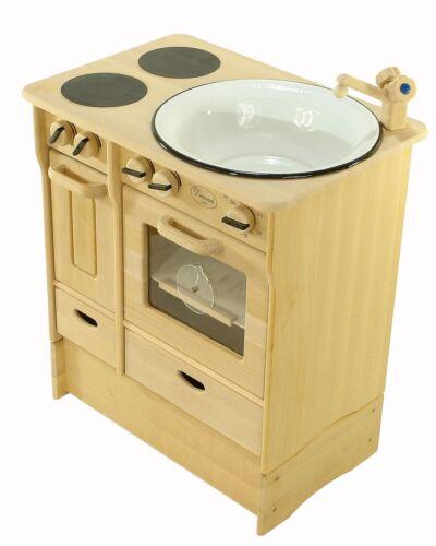 Legno sottostruttura aumento per Drewart Cucina Bambini Cucina Gioco Legno Massiccio 932-2038