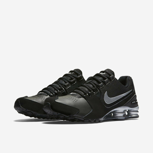 NIB Men's Authentic Nike Shox Avenue Leather Running 001 Shoes  833584  001 Running 85b3b4