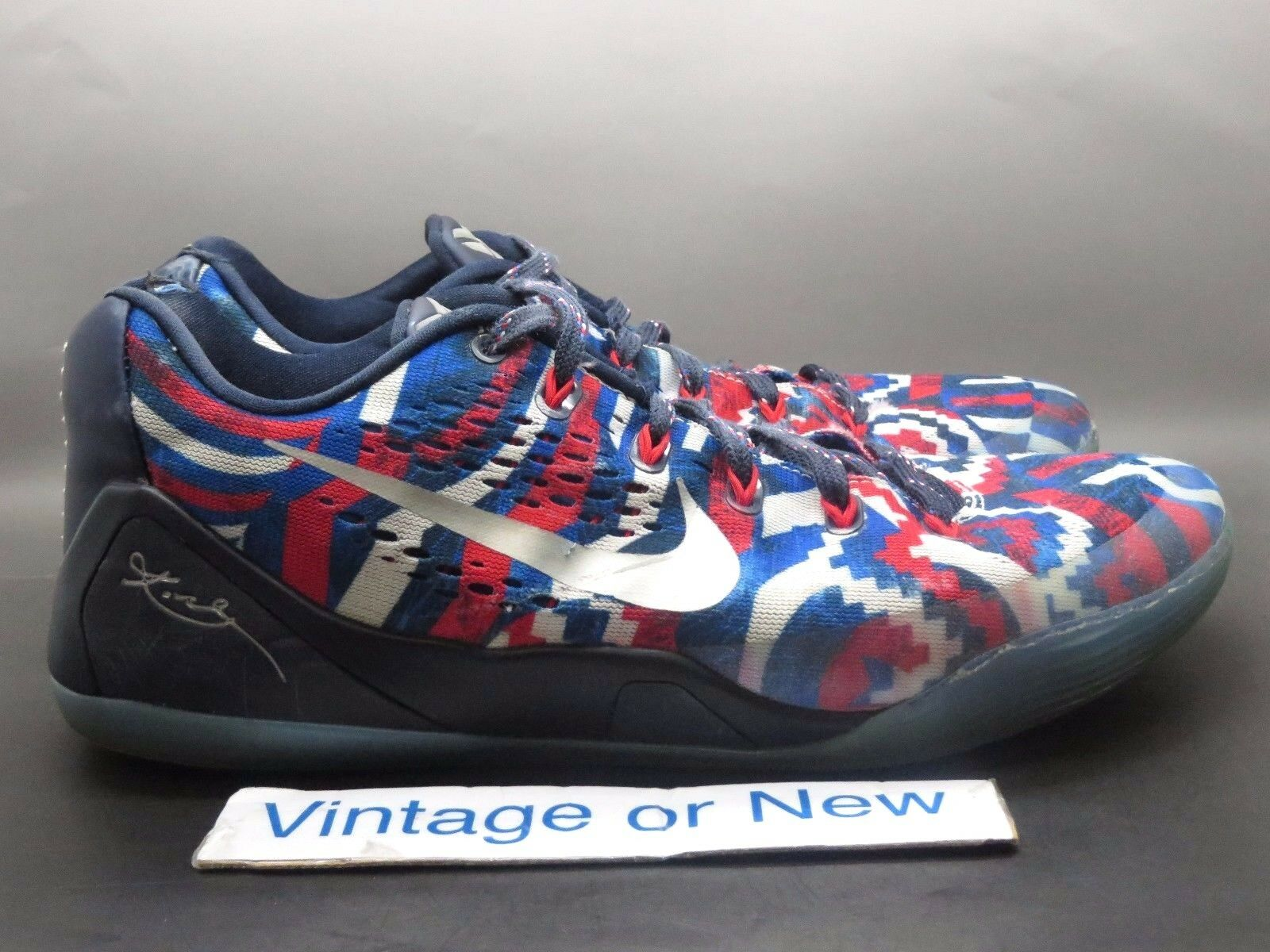 Nike Kobe bajo IX 9 bajo Kobe EM Independence Day 621f7b