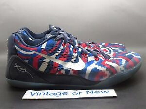 bbb1b7520a8 Image is loading Nike-Kobe-IX-9-Low-EM-Independence-Day-